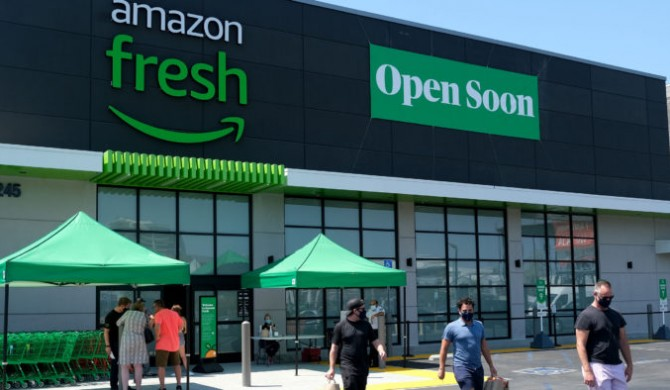 Amazon Fresh aterriza en España.