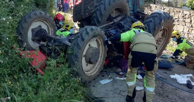 Cada año mueren de media 88 agricultores por accidentes con tractor, la mayoría volcados